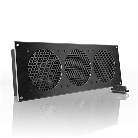 airplate s9 home theater and av cabinet cooling fan