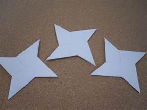 Origami Ninja Star Steps