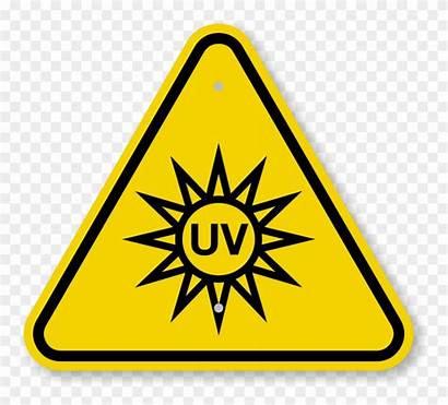 Warning Uv Symbol Iso Hazard Clipart Clip