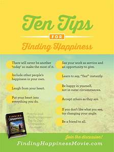 10 Tips for Fin... Find Happiness Quotes