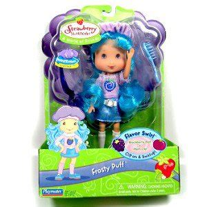 strawberry shortcake flavor swirl mib doll frosty puff
