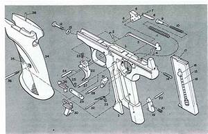 The Pistol Diagram - Firearms Assembly