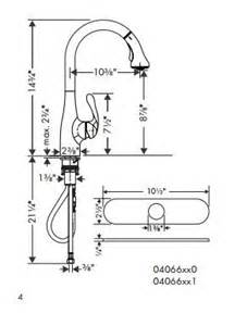 hansgrohe kitchen faucet costco hansgrohe allegro e gourmet high arc kitchen faucet