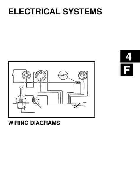 Mercruiser Electrical Diagrams Engines Drives