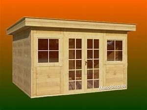 Modernes Gartenhaus Flachdach : modernes gartenhaus meno typ m9 mit flachdach wellness sauna ~ Sanjose-hotels-ca.com Haus und Dekorationen