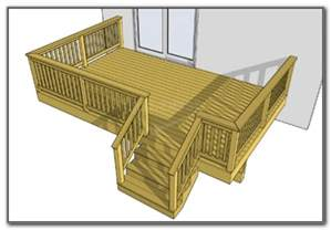 Decks For Round Above Ground Pools by Wooden Deck Plans Free Decks Home Decorating Ideas