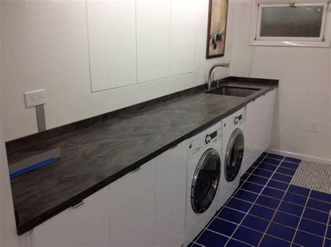 Corian Sorrel Countertop - corian sorrel laundry room vanity