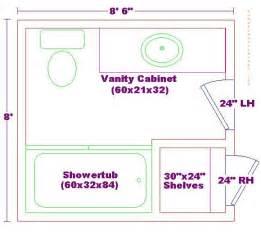 8x8 bathroom floor plan bathroom