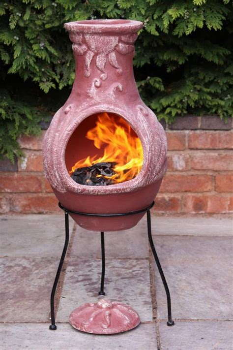 Clay Chiminea by 31 Terracotta Chiminea Pit Mexican Clay Chimenea