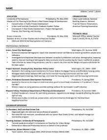 housing policy resume sle http resumesdesign