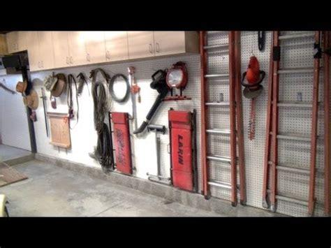 Installed NEW Garage/Shop  upper cabinets, Pegboard