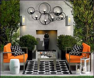 Wall Art Design Ideas: Elegant Modern Outdoor Wall Art ...