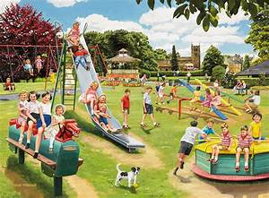 The Park Playground Wall Mural & The Park Playground ...