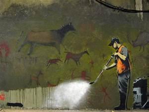 Images Of Banksy Graffiti Wallpaper Hanging
