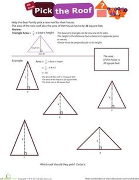 area  triangles images math classroom