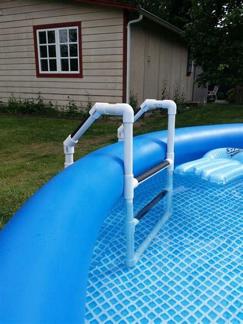 pvc pool ladder diy projects   pool ladder pvc