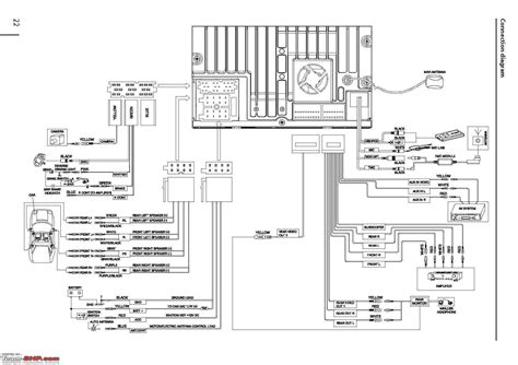 Clarion Deck Wiring Diagram by Clarion Stereo Wiring Wiring Diagram Database