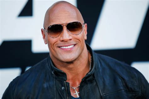 dwayne johnson feminist future president hydration fan