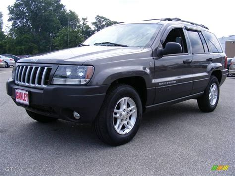 2004 graphite metallic jeep grand laredo 4x4