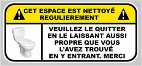 wc propres avertissement toilettes 150mmx70mm autocollant