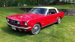 1966 Ford Mustang Convertible   W234   Indy 2015