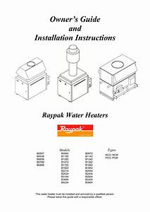 Owner U2019s Guide And Installation Instructions Raypak Water