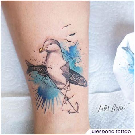 significato tatuaggio gabbiano oltre 45 idee a - Tatuaggi Gabbiano