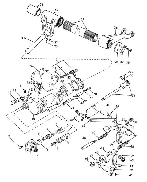 Ford Tractor Injector Diagram by Ford 3000 Tractor Hydraulic Diagram Wiring Diagram