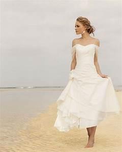 memorable wedding beach wedding dresses perfect for With beach style wedding dresses