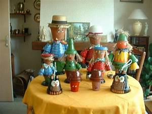 Creation Avec Des Pots De Fleurs : des personnages et objets faits avec des pots en terre ~ Melissatoandfro.com Idées de Décoration