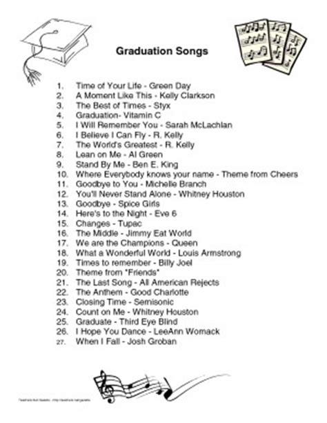 best graduation song quotes