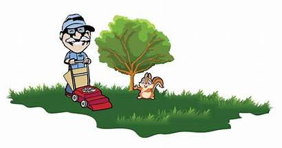 Clipart Groundskeeper Gardening Property Clip Gardener Garden