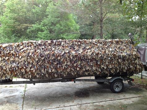 Duck Boat Shaggy Blind by Rancho Safari Be Prepared For Your Adventures Afield And