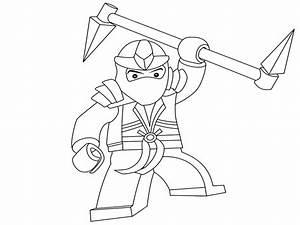 Dibujos para colorear Lego Ninjago, para un desarrollo infantil, en conjunto