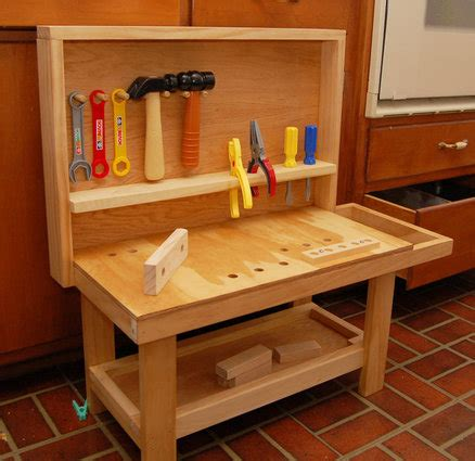 childrens tool bench plans  woodworking