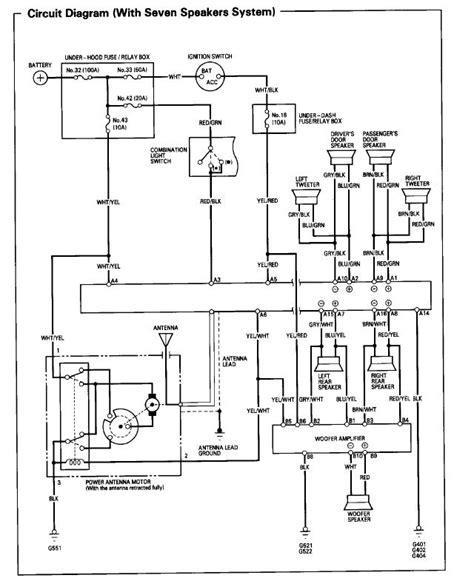 1999 honda accord lx radio wiring diagram 41 wiring