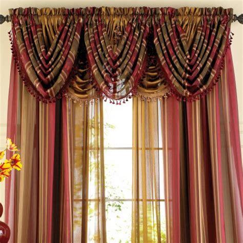 cheap royal velvet chris madden dorset stripe sheer