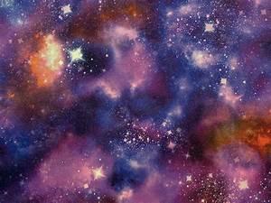 Wallpaper John's – Amazing, Space, Stars, Nebula With Glitter