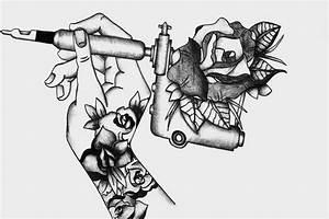 tattoo gun by auriedessin on DeviantArt
