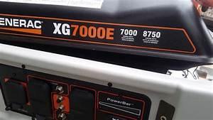 Generac Xg7000e Generator Battery Change