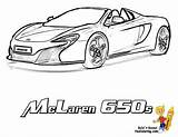 Coloring Pages Mclaren Cars Super Fast P1 Template Yescoloring Race Mercedes Bugatti Benz Clipart 650z sketch template