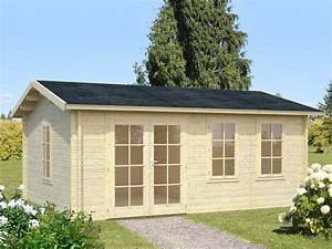 gartenhaus holz flachdach interesting gartenhaus mit With katzennetz balkon mit new garden gartenhaus