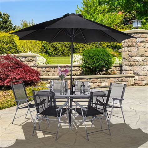 6 Seater Metal Garden Table And Chairs buy cheap metal garden set compare sheds garden
