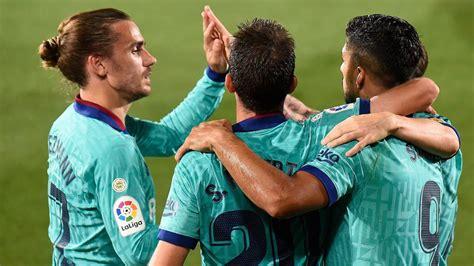 barcelona player ratings  villarreal thumped   ascom