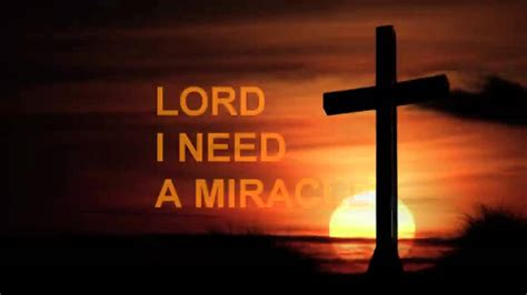 I Need A lord i need a miracle by dr jayce govender
