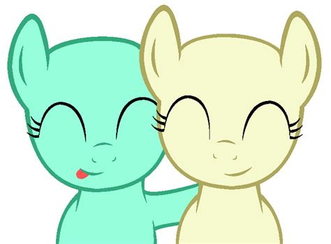 My Little Pony Base #26 [friends] By Drugzrbad On Deviantart