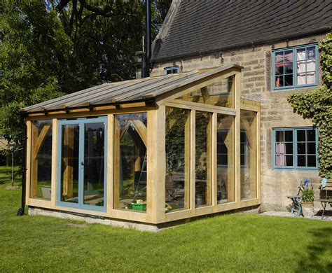 Conservatory : Oak Timber Framed Conservatory-hector And Cedric