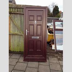 Used Rosewoodbrown Upvc Front Door  In Newport Gumtree