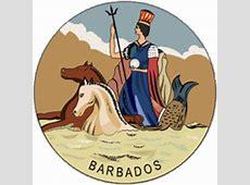 Barbados Colonial Flag