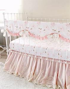 Blush, Pink, Crib, Bedding-, Baby, Girls, Farmhouse, Nursery